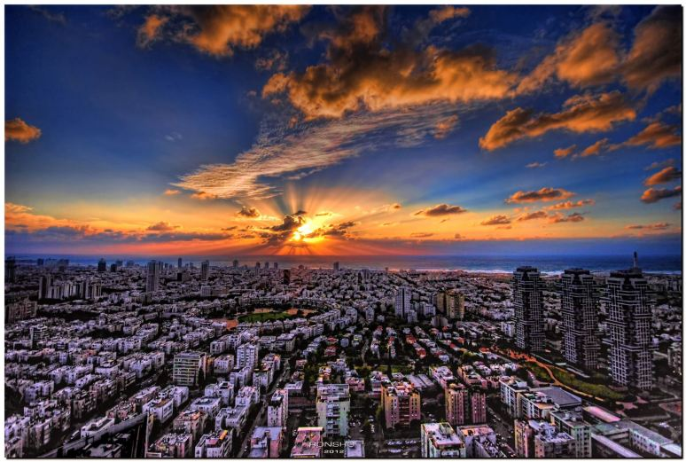 Tel Aviv - the financial hub of Israel